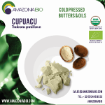 Organic Cupuacu cold pressed Butter