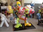 Gorille en résine  pop art