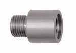 Thread adapter, Aluminium, ET M12x1.25, IT G 1/4