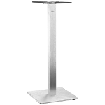 Table Base Borkum High Square Brushed