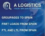 Groupages Bulgaria Spain, Part loads Spain to Bulgaria