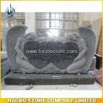 Double Angel Headstone Tombstone
