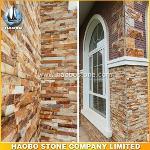 Natural Gold Cheap Cultured Stone HB-SC019