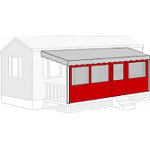 Terrasse Mobil Home Façade