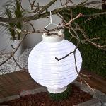 Lampion solaire LED Jerrit 20 cm