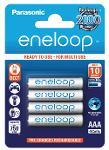 Batterie ministilo ricaricabili Eneloop 4 pz