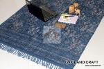 Cotton rugs, indigo carpet, handmade dabu mud printed rugs