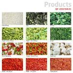 Frozen Fruits & Vegetables & Fruits Concentrates