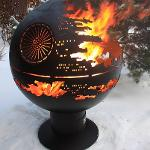 "Fire pit Orb ""The Death Star"""