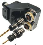 Doppel-Werkzeughalter VDI 30 mit HSK-T40 Spanneinheit