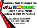 Servicio tecnico soldadura radio frecuencia