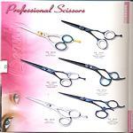 Razer edge hairdressing shears