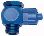 Angled fitting, rotating, G 1/4, for hose 8/6 mm, POM