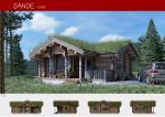 Prefabricated wooden house SANDE