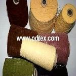 Chenille yarn, Yarn