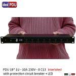 PDU Multipresa rack  VDE Serie IEC 60320 PDU