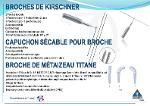 Broche de Kirschner et Métaizeau