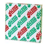 Boite à pizza blanche 33 x 33 x 3.5 cm