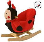 Bascule en bois pour bébé