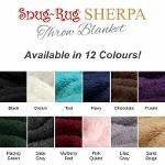 Snug Rug Sherpa Throw Blankets