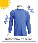 T-shirt com proteção UV