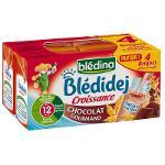 Blédidej saveur chocolat dès 12 mois 4x250ml - BLEDINA