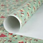 Бумага дизайнерская 10 листов 100*70 см в рулоне...