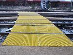 GFK-Gitterrost Gleisüberquerung
