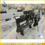 Simple Hot Sale Granite Bench Headstone For Cemetery