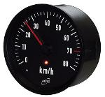 Analog indicator NIR3 / illuminated / km/h