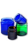 Sprayed Glass Ointment Jars