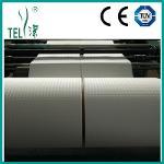 Tissue laminated PE roll