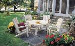 ensemble salon de jardin en bois - Table De Jardin En Rondin De Bois