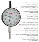 Precision Dial Gauges | analogue | metric / inch