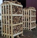 Колотые дрова: дубовые, берёзовые, хвойные (ель/сосна)