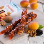 Churchhela (chuch-hela) apricot with walnut and prune MADZHO