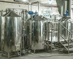 Micro-brewery for production 200-280 liters of beer per day