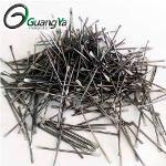 Flat end steel fiber