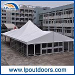 Outdoor High peak Luxury Glass Wall Marquee Tent For...