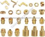 brass nut screw