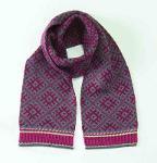 100% Wool Scarf double-sided 'TILDA'