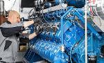 Cogeneration unit service