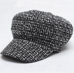 New Style Tweed Fashion Caps for Ladies
