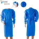 SMS-Materialien, blaue Farbe, 40 g / m² OP-Kleid, medizinisc