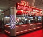 Street Food & Fast Food Kiosk