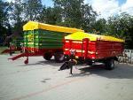 Tandem monocoque PTTCW112 12000kg (pallet width)