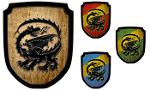 Wappenschild Drache