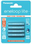 Batterie ministilo ricaricabili Eneloop Lite 4pz