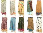 magic wrap skirt indian vintage reversible wrap skirt