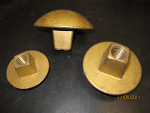 teste in bronzo per bulloni M 18, M 22, M 24